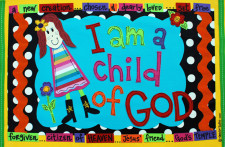Identity in Christ - Little Girl - Red Hair (Front)