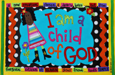 Identity in Christ - Little Girl - African American (Front)
