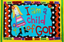 Identity in Christ - Little Girl - Blonde (Front)