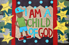Identity in Christ - Little Boy - African American (Front)